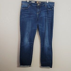 Kut from the Kloth Annie Boyfriend Jeans Sz 16